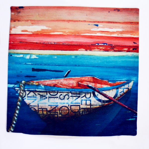 Cusion-Cover-Boat-Sunset